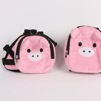 Petsinn pink pig backpack pet backpack school bag dog backpack school bag