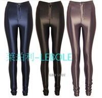 Free Shipping,Hobbyhorse Stright Women high waist Popular Skinny cheap disco pants Leggings