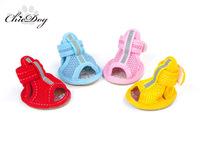 Summer pet shoes mesh breathable dog sport shoes non-slip shoes teddy dog shoes
