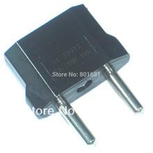 EUA EUA para a Europa Viagem UE Power Adapter Converter parede plug Itália Alemanha ficha + frete grátis(China (Mainland))