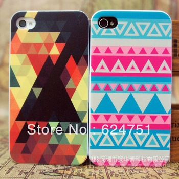 For iPhone4 4s 5G 5th phone shell painted colorful totem of national wind protection cover manufacturers, wholesale