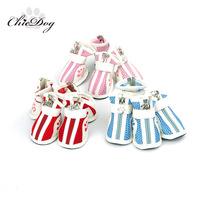 Pet shoes fashion breathable shoes sneaker dog gauze pet shoes teddy shoes
