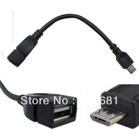 Micro USB OTG Host Cable USB 2.0 A Female to Micro B USB 5pin Male Converter OTG Adapter Cable