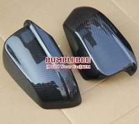 Carbon Fiber Car Rear Mirror Cover rear view mirror shell  For new BMW 5 Series  - F10  2013 (Paste the type) KK301