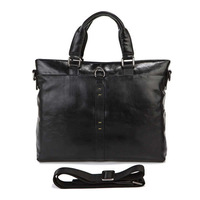 Free shipping by EMS!!2013 Handmade high quality 100% Excellent Vintage Cow Leather Men's Handbag Laptop Bag Messenger 7103A