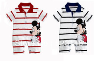 2013 Hot selling New arrival Baby romper lovely mickey ha garments with short sleeves