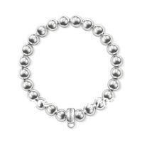 wholesale hot selling hot bracelet ts silver factory price silver bracelet silver beads and carrier timelessly-elegant tsb0029
