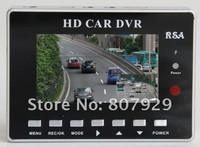 HD 720P Dual Lens Car DVR G-Sensor + H.264 + MOV Video Recorder+ 160 degree ultra wide angle lens Camcorder Car Camera