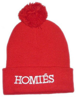 NEW STYLE.Winter and autumn hats.Boys and Girl Knitting wool HOMIES Beanie HATS.Letter print snowboard beanie.