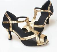 Women's soft outsole Latin dance shoes dance shoes ballroom dancing shoes