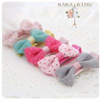 ,   girl bow -knot  hairpin  children accessories