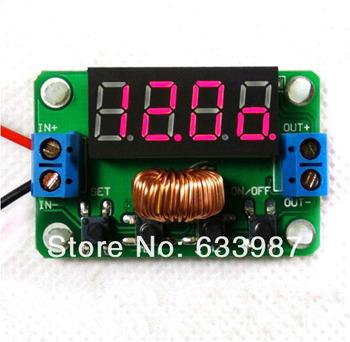 1pc new 6A 100W DC Converters Power Regulated 3.5V-30V 5V/12V Voltage Step Up + led Volt Red  FreeShipping