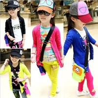 2013 Hot Selling  Autumn Colorful Girls 'Warm Stretch Knit Sweaters