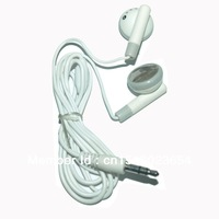 Special Factory Offer ! White Earphone Tablet PC Mobile Phone MP3 MP4 Music Player 3.5mm Headphone Branded Design