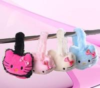 Hot Sale Cute Children Hello Kitty Earmuffs Thermal Plush Ear Muffs Ear Protector Warm in Autumn Winter for Kids Girls 5pcs/lot