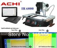 Free shipping Offical agent ,100% original IR6000 ACHI IR 6000 BGA Rework Station,bga repair station