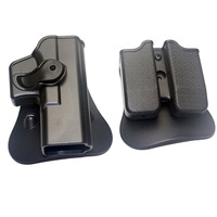 IMI DEFENSE Polymer Retention Roto Right-Handed movie prop Fits GLOCK 17/22/31 & Double Mag Pouch 9x19mm ,40S&W ,357SIG
