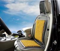 Wooden bead car seat cushion comfortable breathable summer liangdian single pad single seat cushion summer supplies car mats