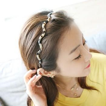 Hair accessory hair accessory hair bands line wave headband leopard print belt bangs hair pin