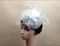 Free shipping nice fascinator hats /popular bridal hair accessories