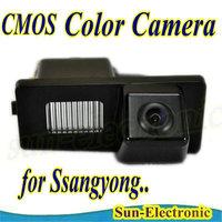 car Rear view camera Reverse auto Camera paking aid DVD GPS for Ssangyong Rexton Kyron free shipping