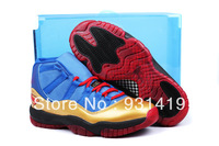 EMS  Top quality J11 Men Basketball Shoes Man of Steel air shoes US size 8-13