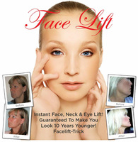 INSTANT FACELIFT- HOLLYWOOD SECRET! LOOKS 10 YEARS YOUNGER INSTANTLY!!     LIGHT for Blond, Gray, and White Hair