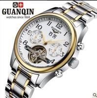 Guanqin Needle A Junior Waterproof Fully-automatic Mechanical Luxury Tourbillon Gentlemen Watches Commercial Men's watch