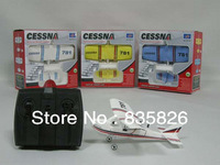 TW-781 Cessna Micro MINI Infrared Easy Control Indoor RC EPO Gilder Aeroplane RC Airplane RTF (Colors Vary)