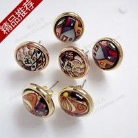 Frey somnus stud earring male women's personalized earrings accessories