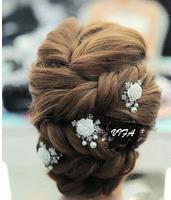 Free shipping!Flower Bridal Hairwear/Hairpins/wedding accessories/bridal hair ornament,SW156