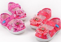 2013 spring female child small square mouth single shoes cotton-made female child shoes female child sport shoes