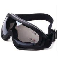 Black Gray Pro Airsoft X400 Tactical Wind Dust Protection Goggle Motorcycle Glasses
