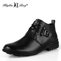 Plus size denim boots snow boots cotton-padded shoes tidal current male commercial men's boots 45 46 47