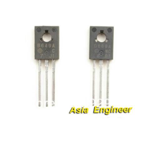 B649a transistor