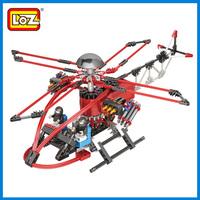 2013 designer Loz blocks fighter assembled helicopter building blocks boy plastic building blocks,wholesale