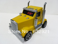 New Truck Car Portable Mini Speaker for Ipod/ Laptop/ Usb/ MicroSD FM Radio 10pcs DHL Free shipping