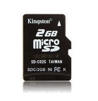 new and original Full Capacity 2G  Micro SD class 4 Flash Memory Card 2GB For Mobile Phone