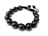 Fashion 10MM Men's Shamballa Bracelet ARRIVAL / Hematite Shamballa Beads Bracelet,AS a Festival Best Gift /Free Shipping