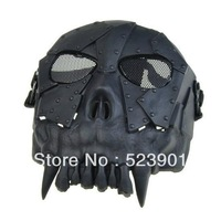 Skull Soldier Wargame US Treasure Hunter Desert Corps Militery Masks Skeleton Full Cover Face Protector Halloween Party Mask
