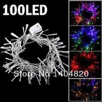 8-mode 100-LED String Lamp Light 10m for Christmas Halloween Multi-color EU plug