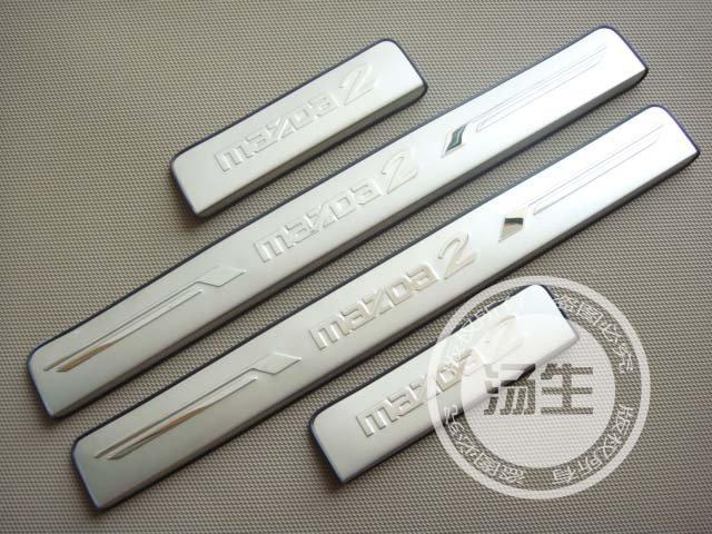 Хромовые накладки для авто 2011 Mazda 2 хромовые накладки для авто oem toyota h b