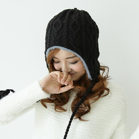 """LASION"",1pcs,2013 new hat hand-knitted hats autumn and winter Wool cap,Warm hat,Multicolor MZ-09"