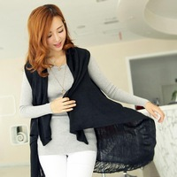 """LASION"" BEST PRICE 2013 fashion women coat sweater 5 colors PLUS SIZE cardigan knitted coat #MJ-02"