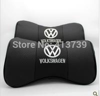 Volkswagen lavida steps leaps polo cowhide headrest neck pillow car cushion