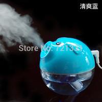 Free shipping HOT 2013 New USB Mini Air Humidifier sauna Office Bedroom  Purification Novelty Aroma Diffuser portable