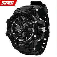 Men Brand Multifunction Watch,Digital Climbing Dive Watch,Shock Resistant Wristwatch,30M Waterproof PU Strap watch,Sports Watch