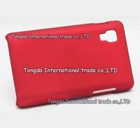 Matte hard rubber cover case,Air free ship,For LG Optimus L4 II E440 E445,1pcs,high quality