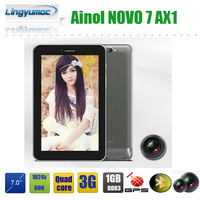 Wholesales Ainol 7 inch tablet pc  Novo 7 AX1 3G WCDMA 8GB 5.0MP camera