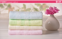 Free Shipping, 3pcs/Lot 100% Cotton Face Towel 76X34CM 105g/piece , cheap and good quality from factory